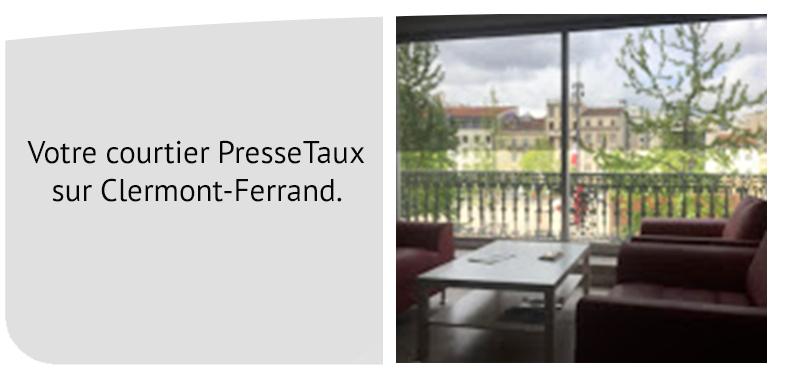 Courtier en crédit à Clermont-Ferrand - PresseTaux Clermont-Ferrand